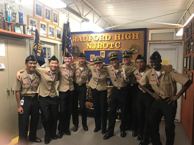 Radford NJROTC Color Guard and Armed Drill Teams Win!! Featured Photo