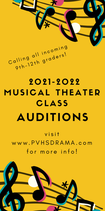 PVHS Theater Auditions