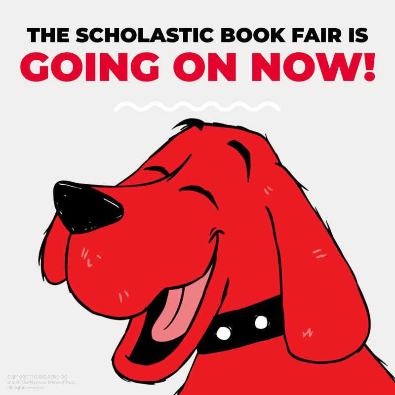 Scholastic Book Fair going on now!