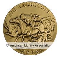 Caldecott Metal Award Logo