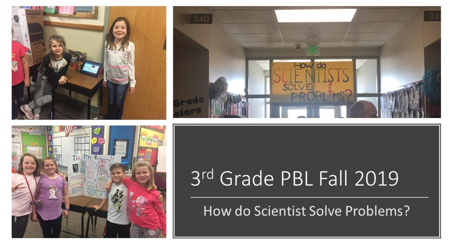 3rd grade PBL