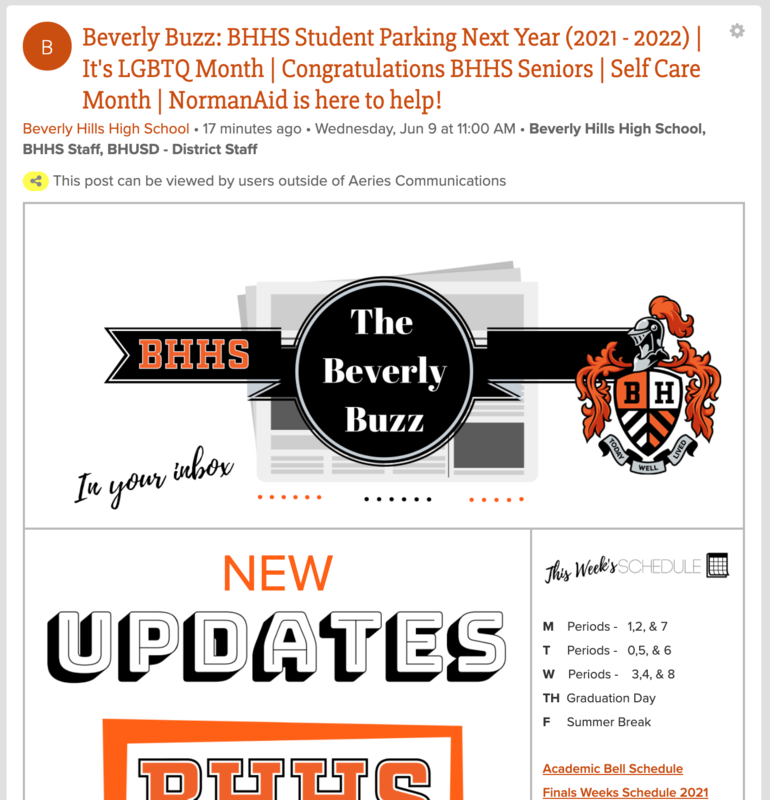 BHHS Newsletter - The Beverly Buzz - June 9, 2021