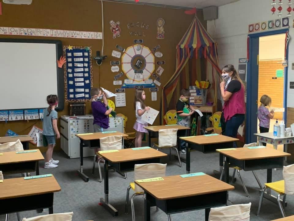 1st grade English West