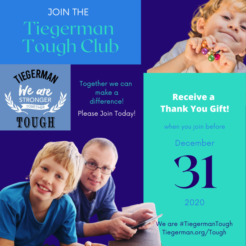 You are Tiegerman Tough! Featured Photo