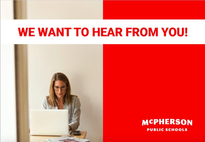 McPherson Public Schools   Community Survey   Planning for the Future Featured Photo