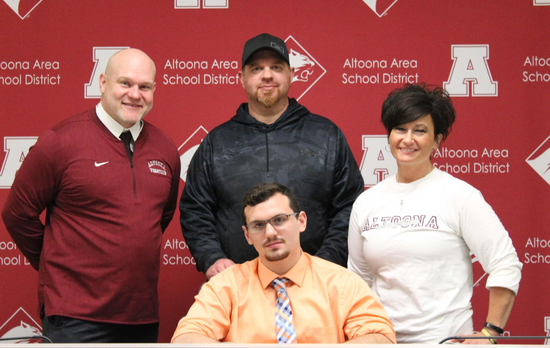 Nathan Simmers, Coach Gilbert and Family