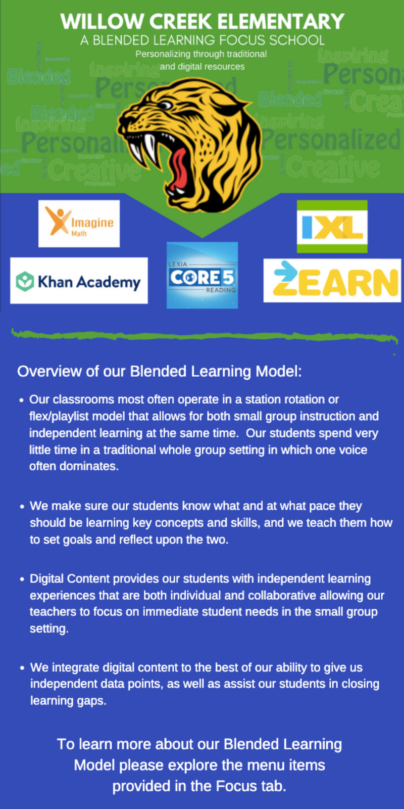 Blended Learning Description