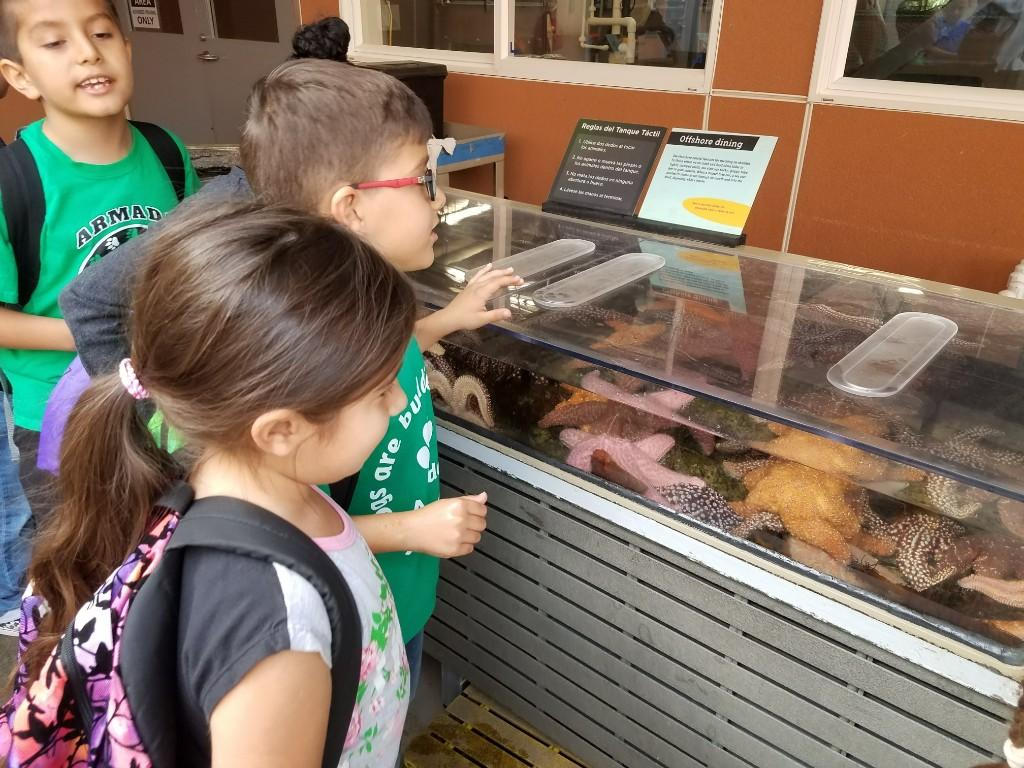 2nd grade field trip to the California Science Center