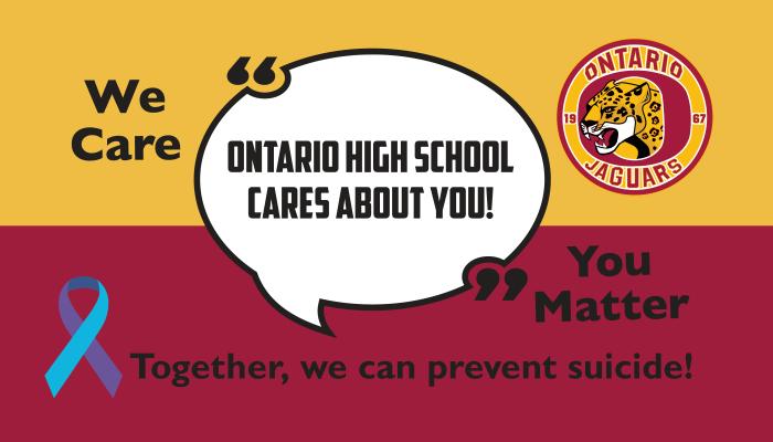 OHS Suicide Prevention Flyer