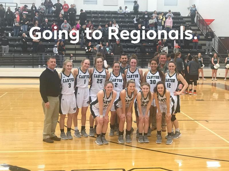 EAGLETTES BASKETBALL TEAM ARE HEADED TO REGIONALS Featured Photo
