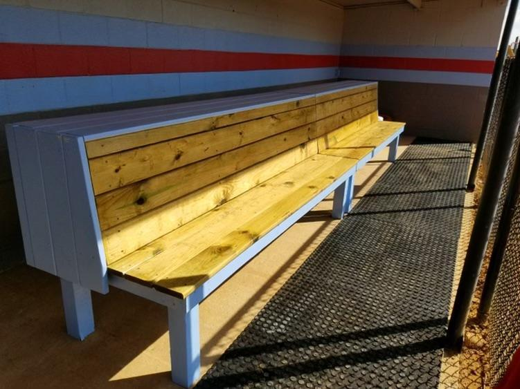 Dug Out Bench