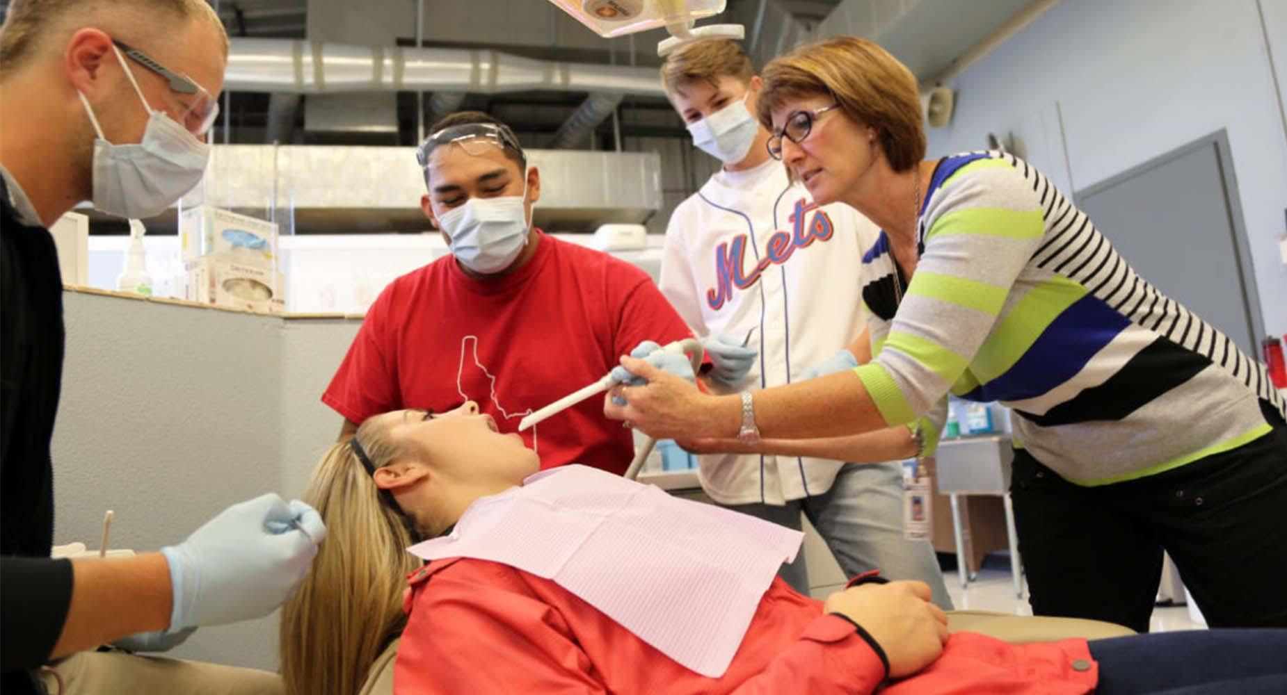 Idaho Ed News photo of dental assistant program