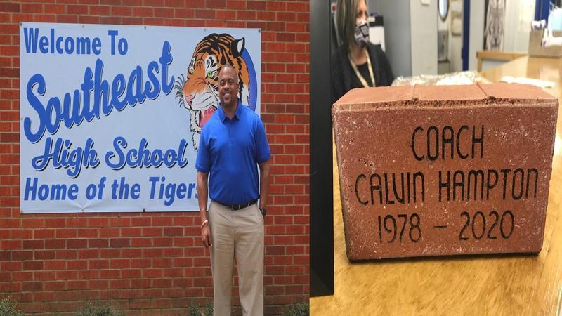 Coach Hampton Honorary Brick