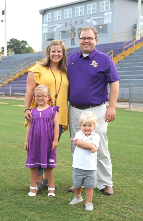 Defensive Coordinator and Family: Clay Massey, wife Julie, children Sydney Kate and Andrew