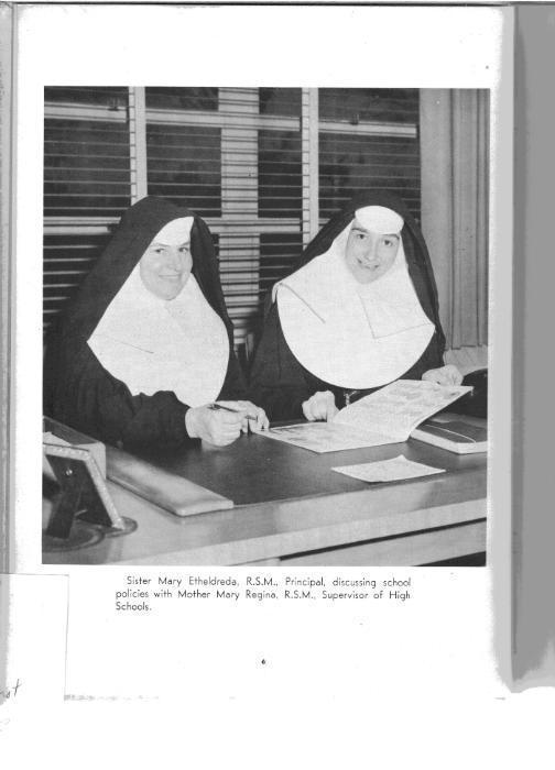 Sisters in full habit