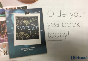 Flyer for Yearbook Pre-sale