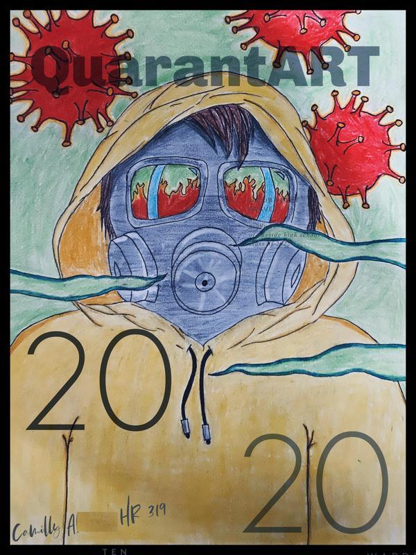 Camila A. quartentine artwork