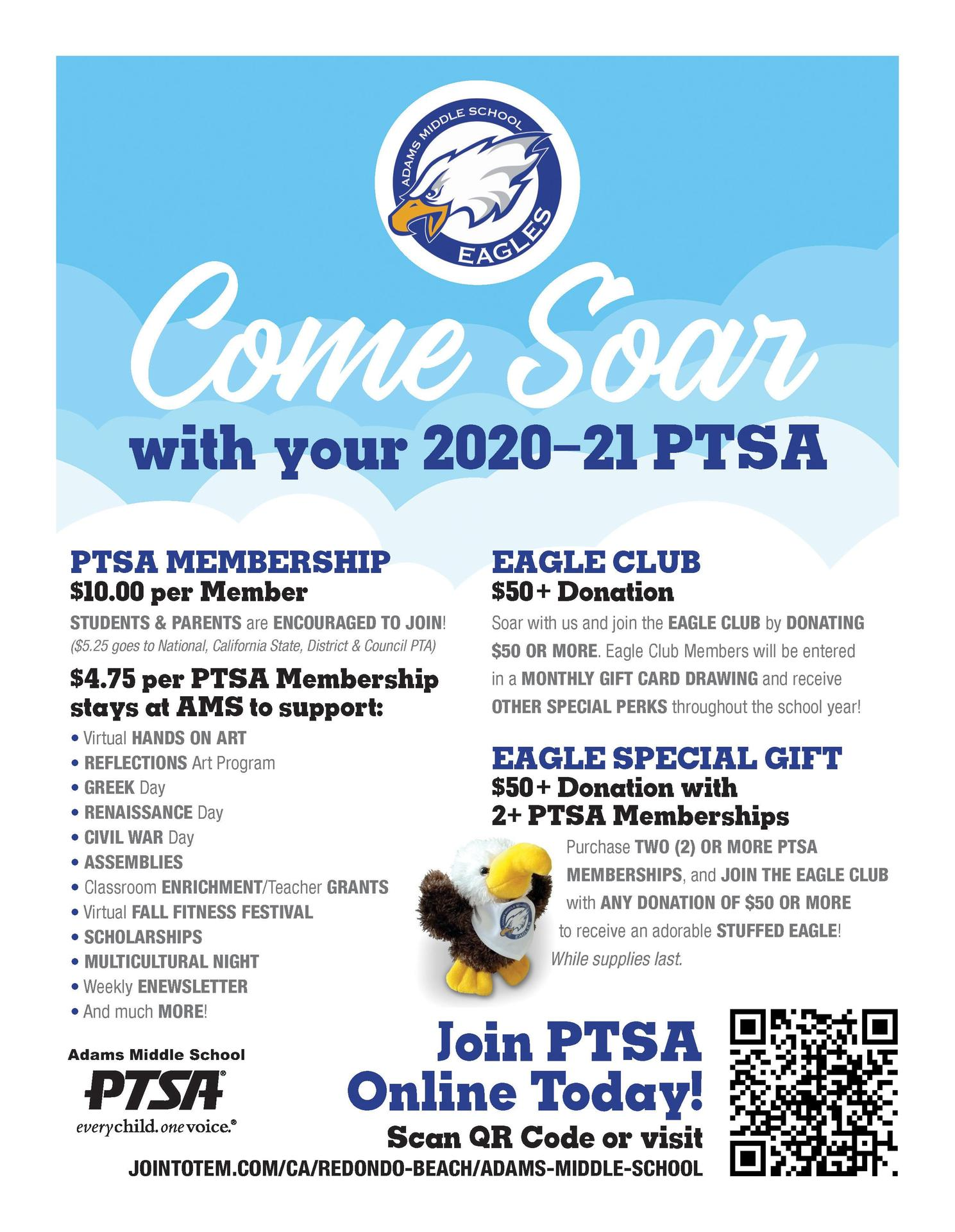 Come Soar with AMS PTSA