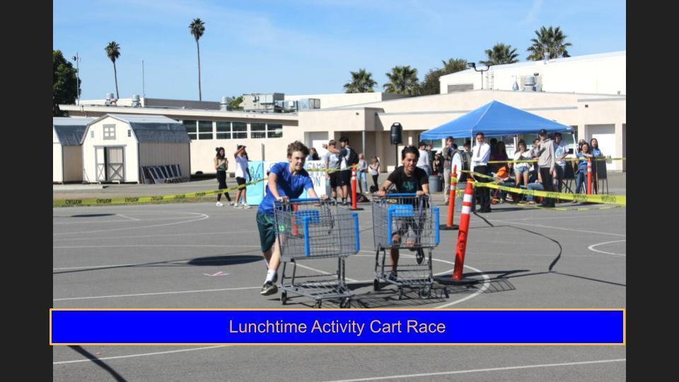 LTA Cart Race