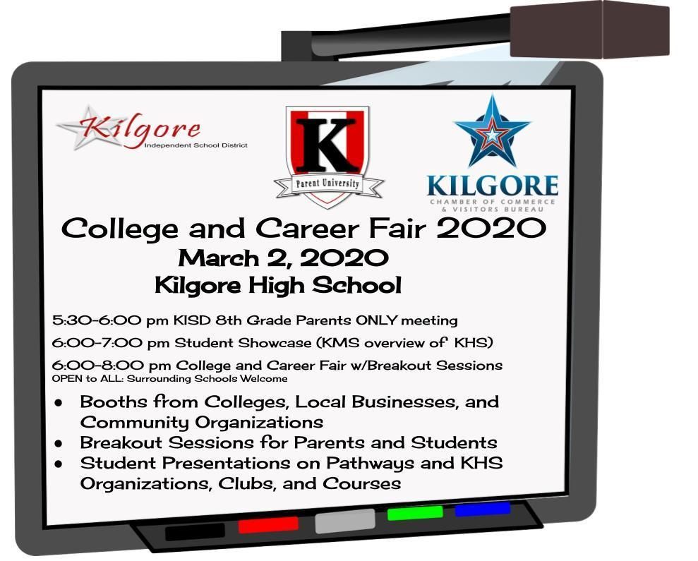 College & Career Fair Invitation