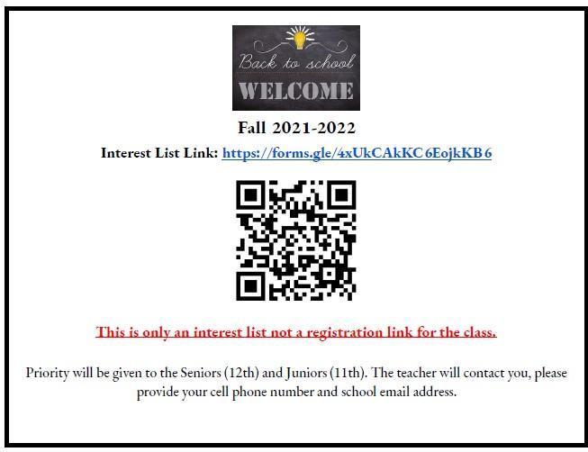 ROP Interest QR Code and Link