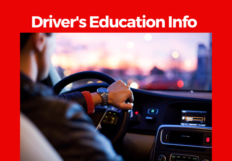 Driver's Education Information Thumbnail Image