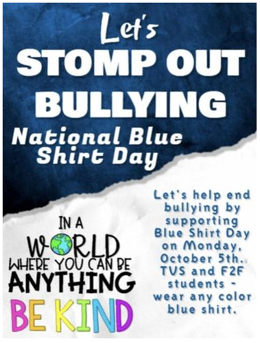 Let's Stomp Out Bullying