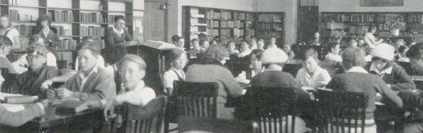 The Library, 1930