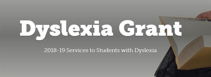 Dyslexia Grant graphic