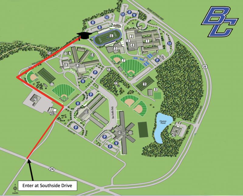 graduation map