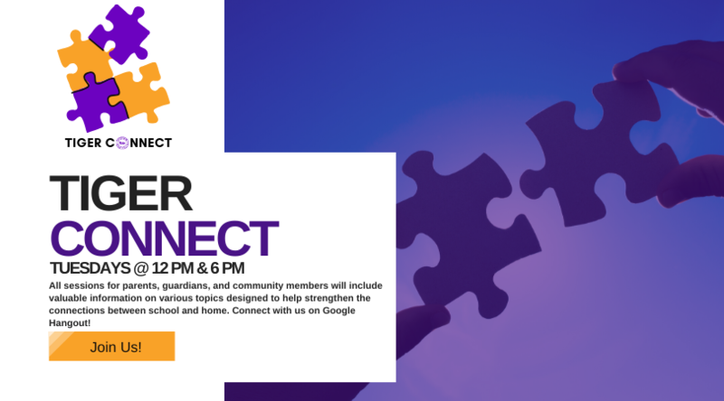 Tiger Connect |Every Tuesday at Noon & 6 PM Featured Photo