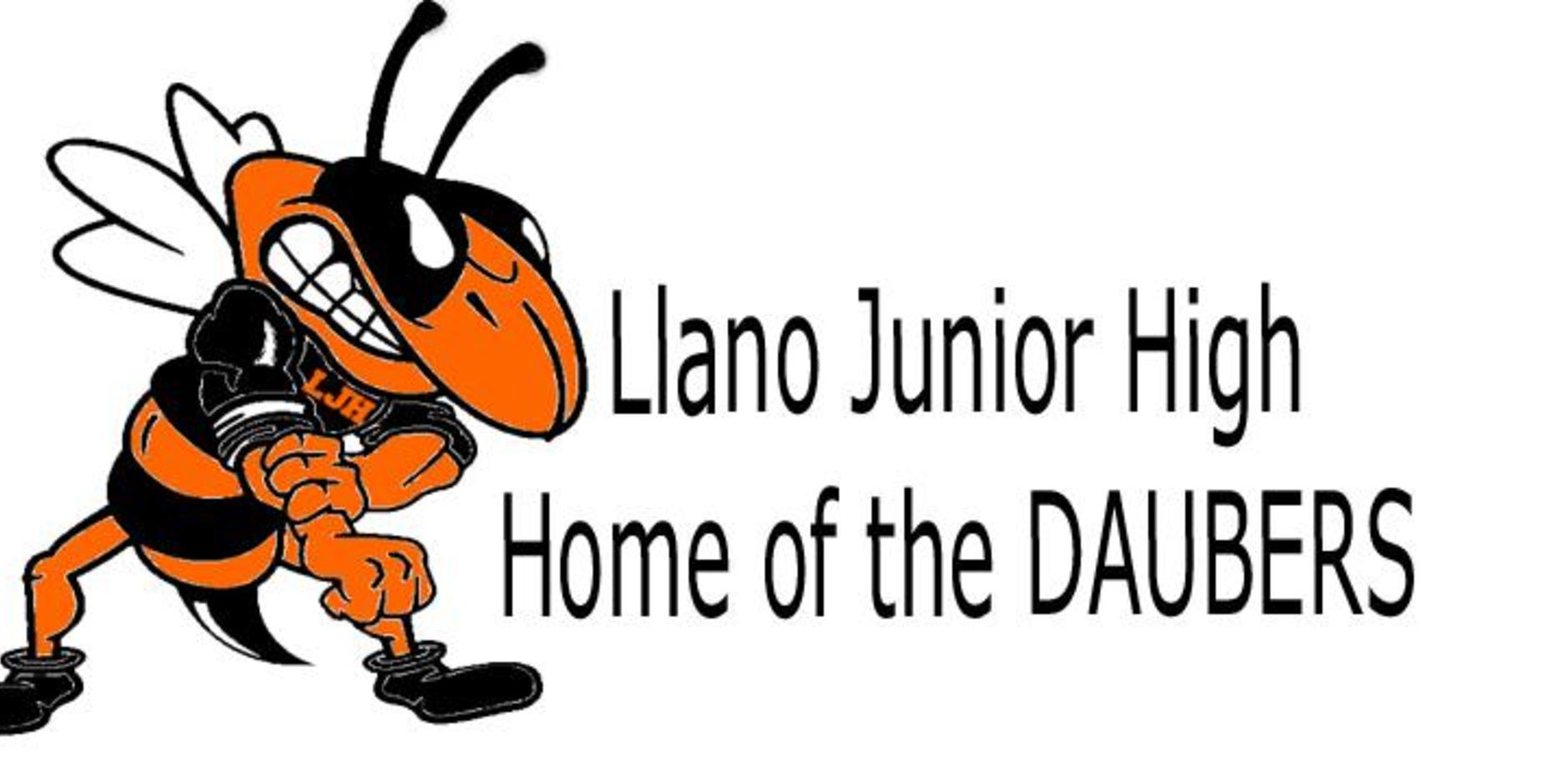 Llano Junior High Home of the Daubers