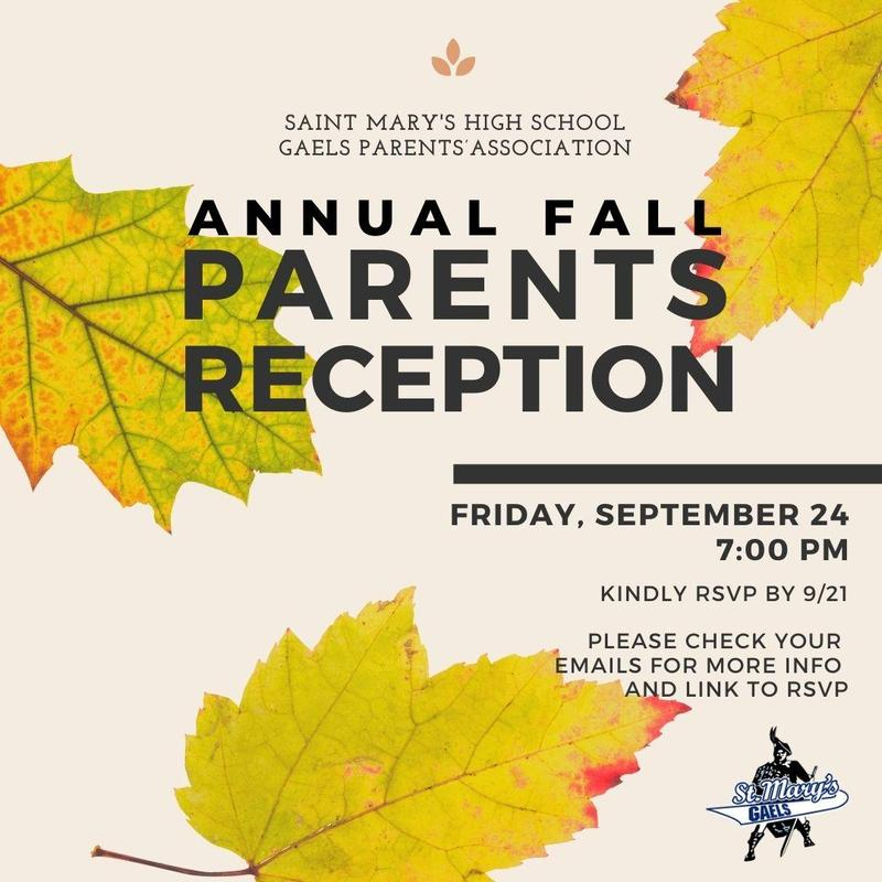 Annual Fall Parents Reception Featured Photo