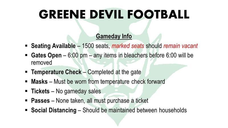 Devil footbal info