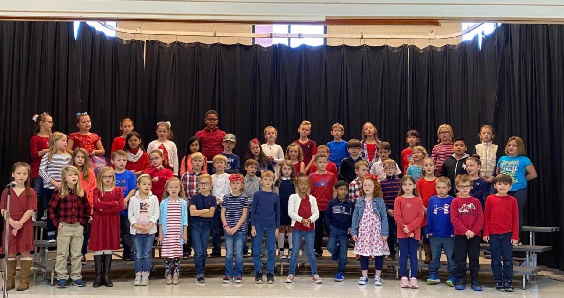 Second Grade Veteran's Day Program