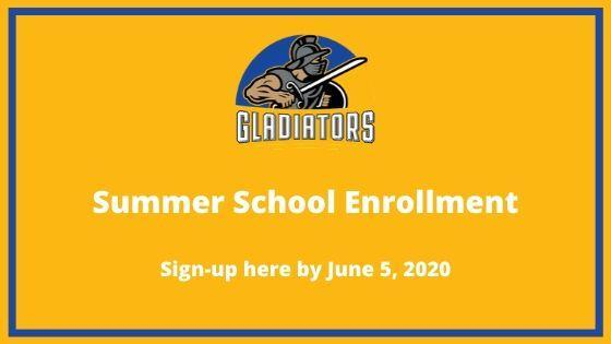 Summer School Sign-ups