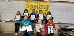 4th Grade Spelling Bee Participants