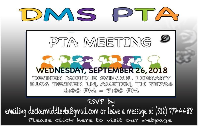 DMS PTA Meeting Thumbnail Image