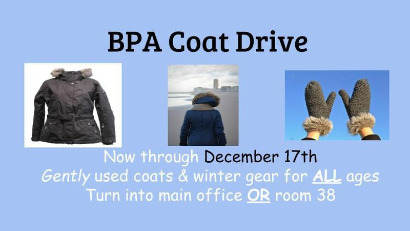 Seaford HS BPA Hosting Coat Drive Featured Photo