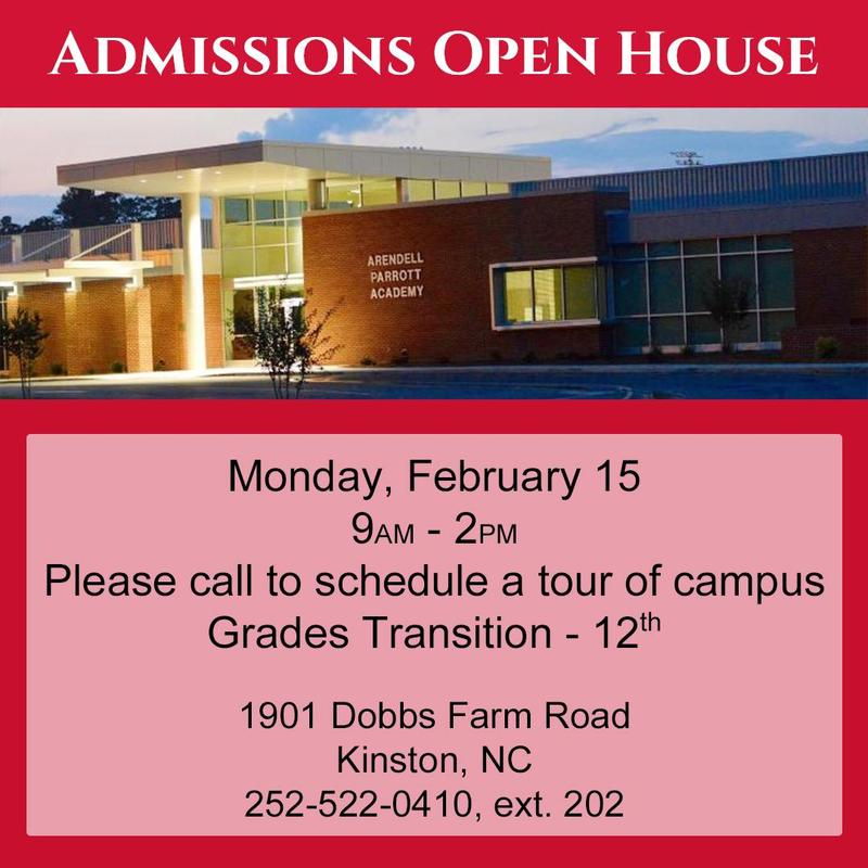 APA Admissions Open House Feb 15 9-2