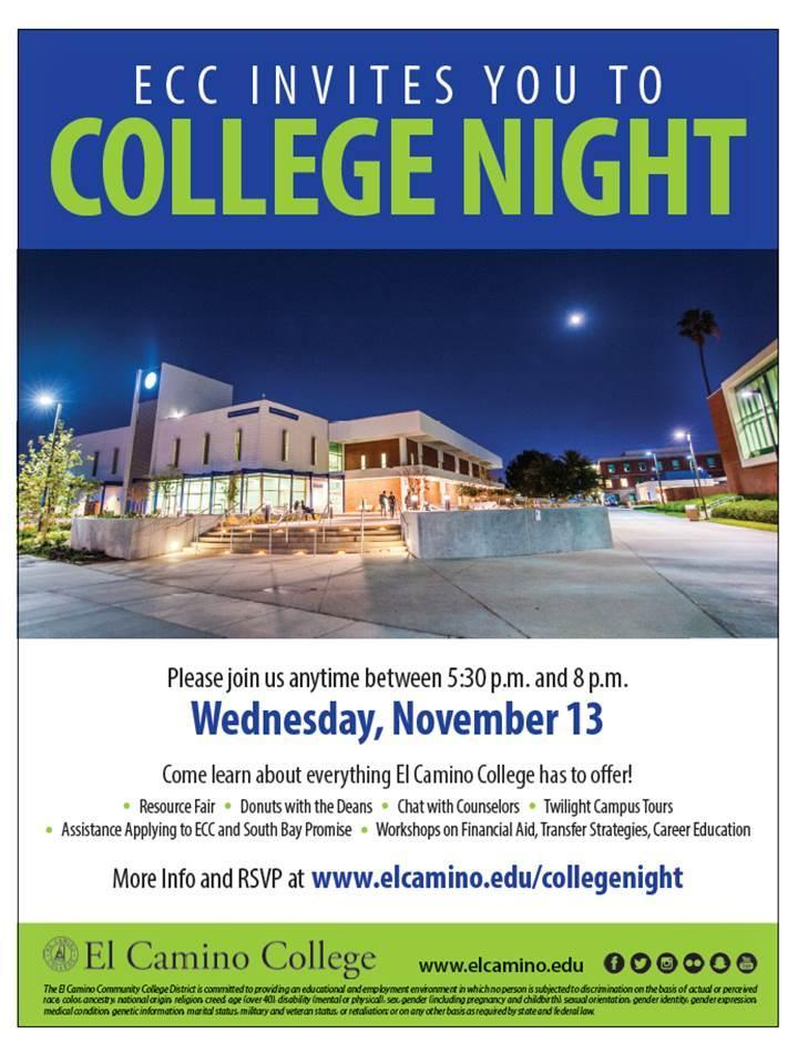 ECC College Night