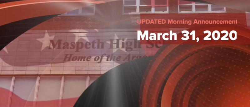 Maspeth High School Morning Announcement-UPDATED Featured Photo