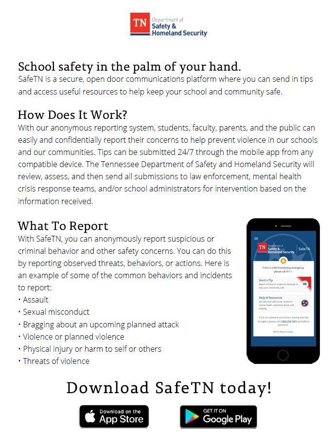 SafeTN Information