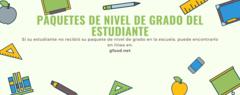 Paquetes de nivel de grado del estudiante estan aviables en nuestro sitio de web