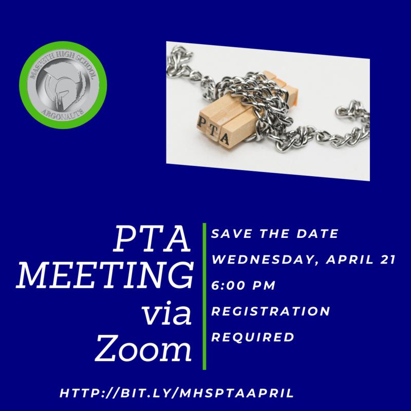April PTA Meeting