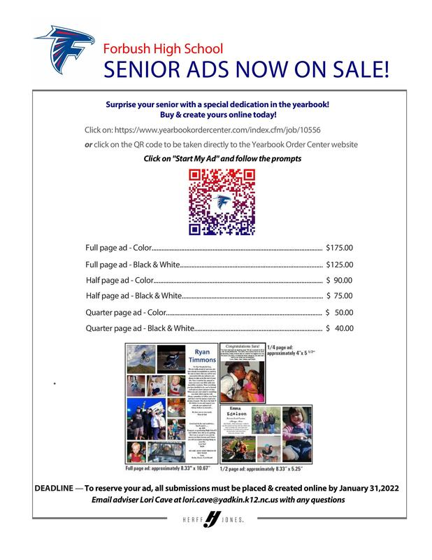 Senior Ads for Yearbook Thumbnail Image
