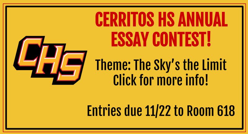 Annual Essay Contest