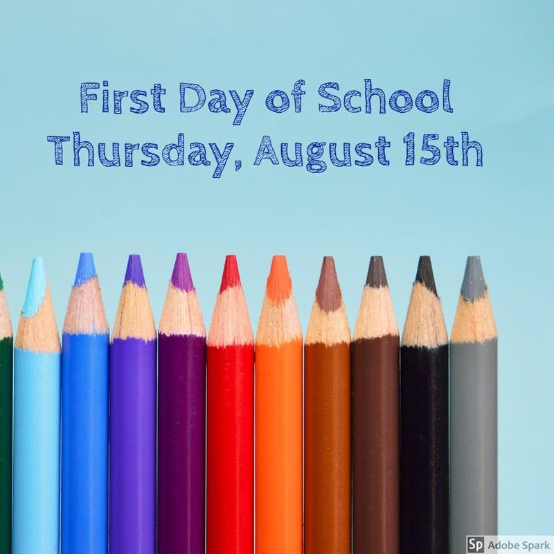 1st Day of School Thumbnail Image