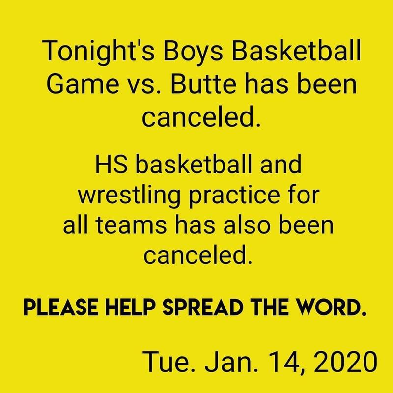 Game Canceled