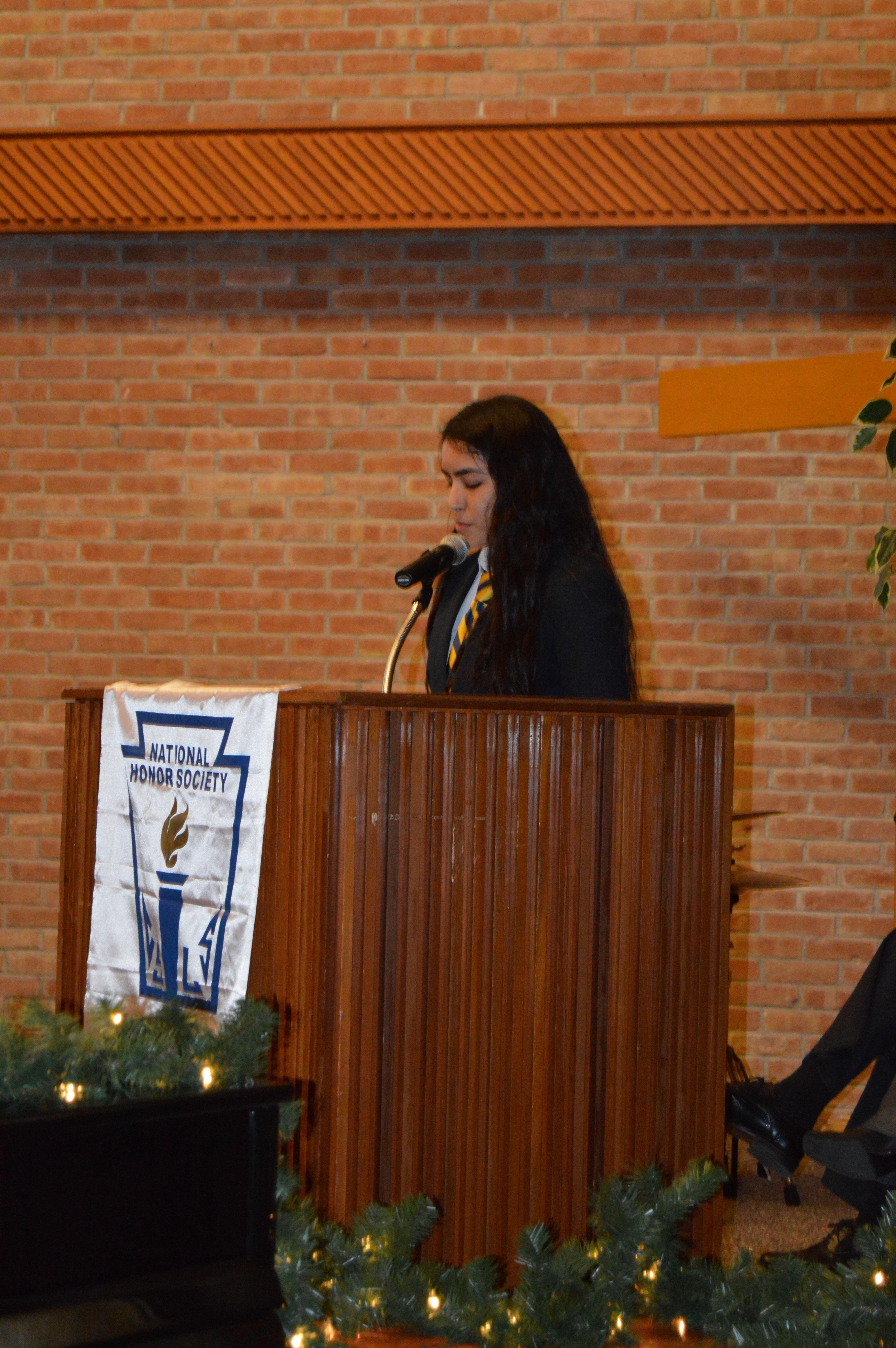 national honor society induction ceremony speech